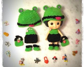Mini Mui chan : Cut Crochet Frogs