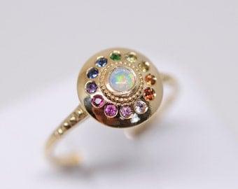 Royal Dynasty Solari UFO Ring