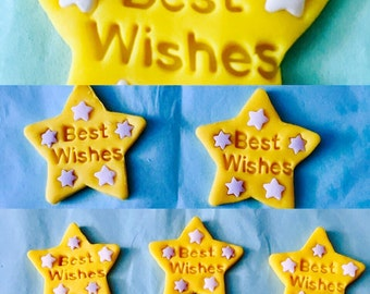 Best Wishes Cupcake Toppers