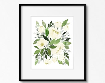 Winter Flowers - INSTANT DOWNLOAD