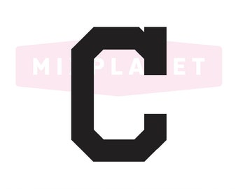 Cleveland Indians Cut Files, Cleveland Indians SVG Files, Cleveland Indians SVG Cutting Files, Cleveland Indians Cuttable, Instant Download