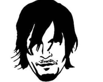 DARRYL - The walking dead -Vinyl Decal - Multiple colors AND SIZES