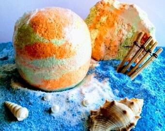 Ocean Bath Bomb/More Options/Birthday Bath Bomb/Gift for Surfer/Gift for Him