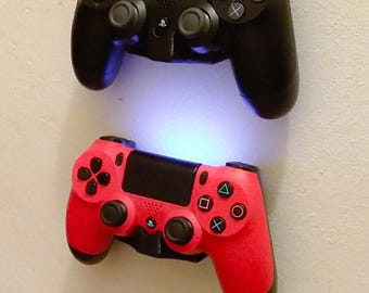 Wall bracket holder for PS4 Controllers,2pk with mounting screws,free shipping.