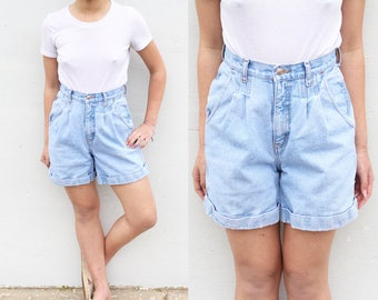 Bill Blass High Waist Shorts Denim Shorts