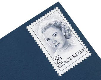 25 Grace Kelly Stamps - 29c - Unused Postage - Quantity of 25