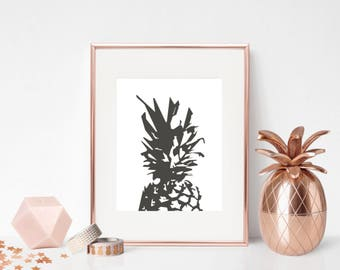 Pineapple Print - Changeable Colours