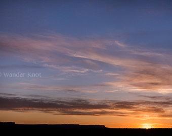Sunrise in Utah - Fine Art Travel Photography Prints - Matted