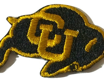 Colorado Buffaloes CU Buffs embroidered iron on patch