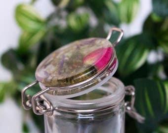 Botanical Stash Jar