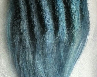 33 piece Dreadlock extensions, permanent, 100% human hair, reduced price