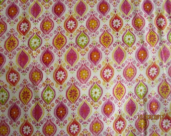 The Gallery patchwork fabric Bohemiam print
