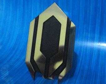 Cerberus pin badge