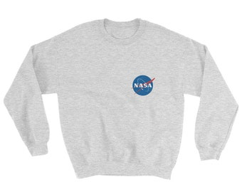 NASA Sweatshirt - Tumblr Sweater - Unisex Crew Neck Sweatshirt