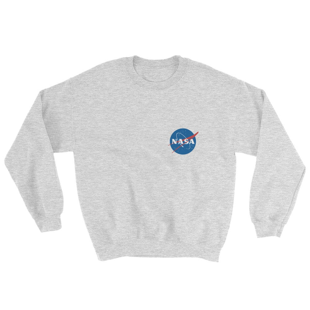 NASA Sweatshirt Tumblr Sweater Unisex Crew Neck Sweatshirt