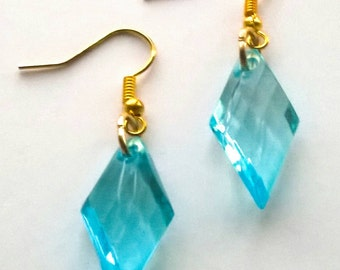 Renetta's Blue Diamonds Earrings