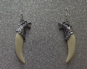 Wolf Tooth Earrings