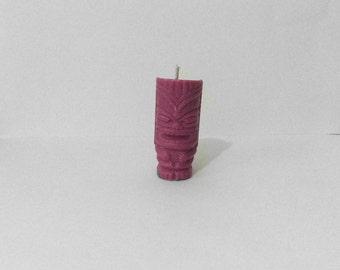 Pink Tiki Candle