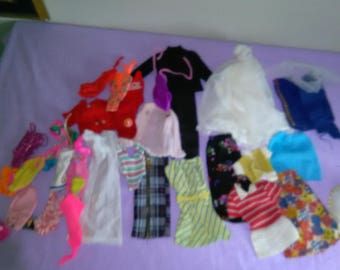 Vintage Tammy Doll Clothing Lot With Some Tressy ******* 1950's-1960's*********