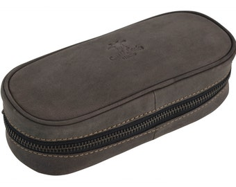 Gusti leather 'Barton' leather cigar pouch
