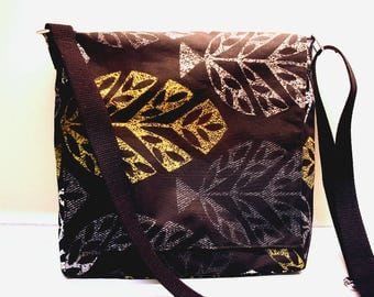 Leaves Messenger Bag