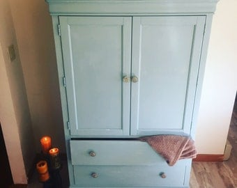Lightly Distressed Armoire