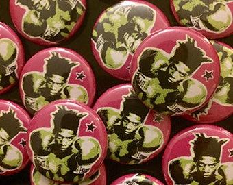 1'in. Jean Michel Basquiat Boxer pins (1 inch pin)