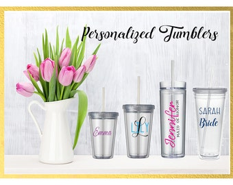 Personalized Tumblers **4 sizes available**