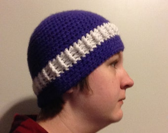 Custom Two Color Beanie