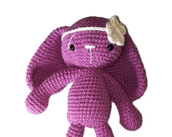 Handmade crochet bunny amigurumi doll toy gift