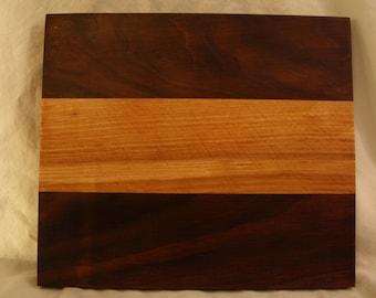 Oak and Walnut cutting board