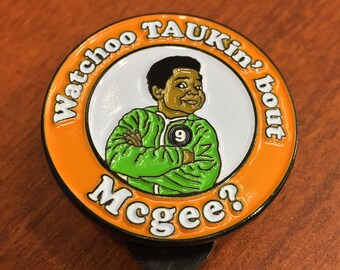 Whatchoo TAUKin' ' bout McGee - Pin (Black Metal)