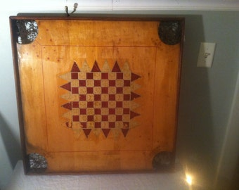 REDUCED PRICE Vintage Carrom Double Sided Board - 3 Days Only