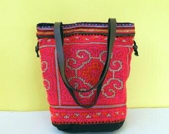 Ethnic Bag, Hippie Bag, Boho Bag, Vintage Bag, Tribal Bag, Beach Bag, Market Bag , Sport Bag, Tote Bag Cotton, Shoulder Bag Cotton