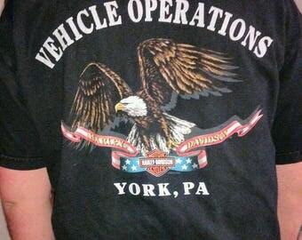 Vintage Harley Davidson shirt, vintage thin Harley T-shirt
