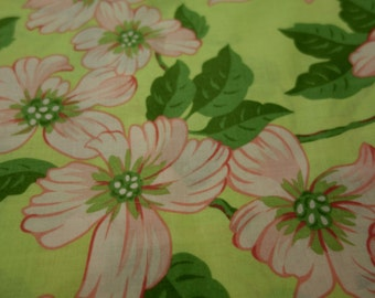 "3 1/4 yards of ""Dogwood Festival"" by Free Spirit Fabrics"