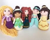 5 princess pack ! English...