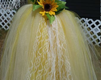 Sunshine yellow dress tutu.