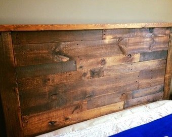 Custom Handmade Wooden Headboard