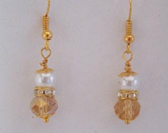 Earrings ear Golden
