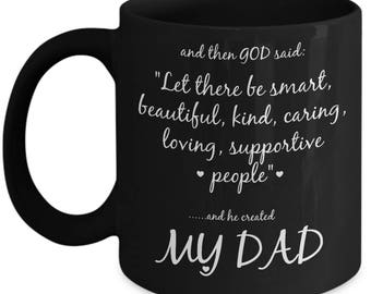 Dad Gifts From Son, Fathers Day Gift From Son, Fathers Day Gift From Daughter, Fathers Day Gift From Kids, Dad From Daughter, Dad Coffee Mug