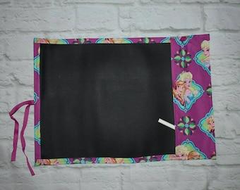 Chalkboard drawing mats,  chalk mats, travel chalk mats, frozen, Anna and elsa, disney