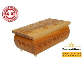 Personalized Box, Personalized Jewelry Box, Personalized Wooden Box,Wood Box, Ring Box, Jewelry Holder, Memory Box, Wooden Keepsake Box, Kee