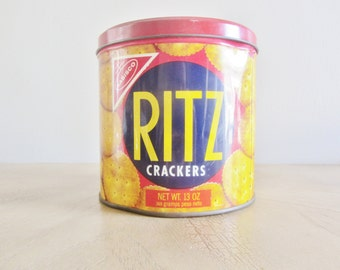 Vintage Ritz Tin Canister