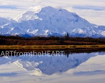 Alaska Photography. Denali. Mountain Print. Wildlife Photography. Nature Photography. Poster Print. Nature Wall Art. Wilderness.