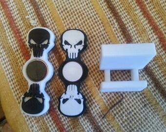Skull spinners