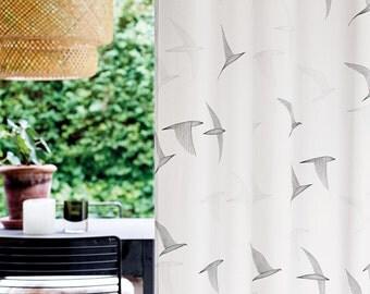 Curtains Ideas curtains birds theme : Bird curtains – Etsy UK