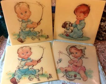 Dolly Toy Company wall plaques