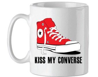 KISS MY CONVERSE Last Dragon Tribute Mug
