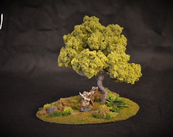 Highly Detailed Tree for Dungeons and Dragons or War Games